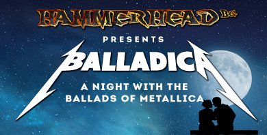 Hammerhead - Balladica - A night with the ballads of Metallica